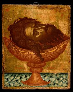 Byzantine Icons, Byzantine Art, Batiste, Saint Jean, John The Baptist, Orthodox Icons, Sacred Art, Christian Art, Fresco