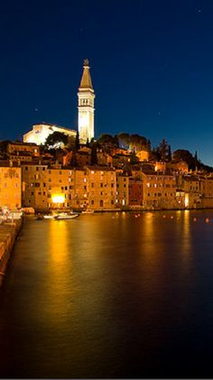Rovinj by night - Croatia