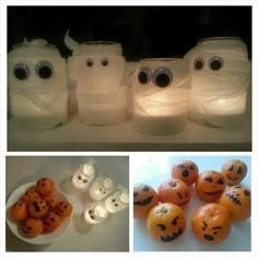 Halloween lanterns / Mummy lanterns