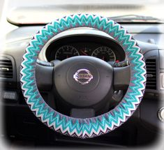 Steering-wheel-cover-for-wheel-car-accessories-Zigzag,-Chevron-print