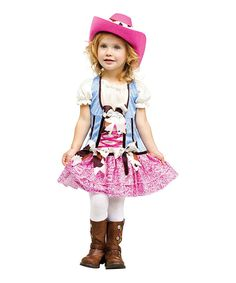 Look what I found on #zulily! Pink Cowgirl Dress-Up Set - Infant & Toddler by Fun World #zulilyfinds