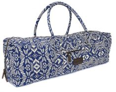 fe0524906d6a Kindfolk Yoga Mat Duffle Bag Patterned Canvas with Pocket and Zipper Duffle  Bag Patterns