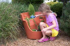 HUGE lightweight and durable- Eco Personal Garden Terra Cotta Broken Pot is no ordinary pot for your fairy garden designs