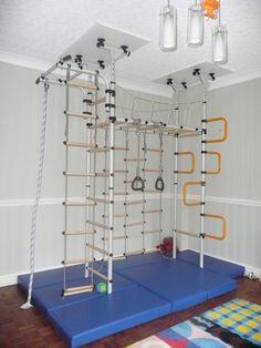 Indoor climbing frame 'Jungle Gym'