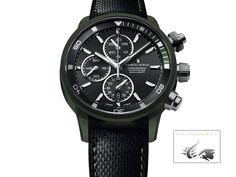 Maurice Lacroix Pontos S Watch, Powerlite, ETA Valjoux Black/Gre Wooden Boxes, Watches, Green, Black, Wood Crates, Wrist Watches, Wristwatches, Black People, Tag Watches