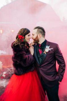 Rich Burgundy Wedding Inspiration from Calgary, Alberta Wedding Colours, Wedding Themes, Wedding Designs, Wedding Styles, Traditional Wedding Dresses, Bride Look, Burgundy Wedding, Marsala, Bridal Fashion