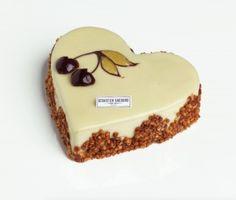 Cœur Montmorency Pâtisserie de saint valentin chez Sébastien Gaudard…
