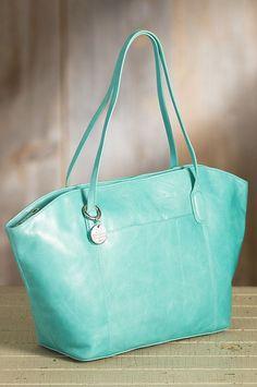 Hobo Patti Leather Tote Bag | Overland Sheepskin