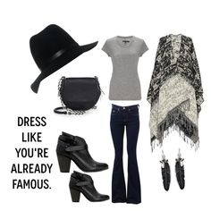 """""""70's Boho with Rag & Bone"""" by marielle80 on Polyvore featuring rag & bone and Rebecca Minkoff"""