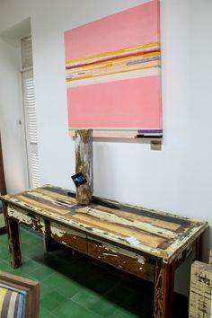 At our store Living Green Furniture Curaçao - Pietermaai  Painting from Avantia Damberg