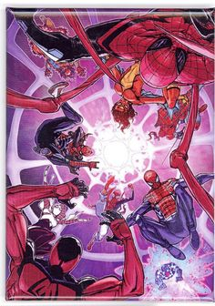 Cover to Spider-Verse marvel comic book spider-man spiderman Marvel Comics, Marvel Vs, Marvel Heroes, Cosmic Comics, Amazing Spiderman, Spiderman Art, Scarlet Spider, Spider Gwen, Spider Spider