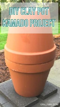 Flower Pot Crafts, Flower Pots, Outdoor Projects, Diy Projects, Grilling Tips, Terracotta Pots, Clay Pots, Outdoor Cooking, Quick Meals