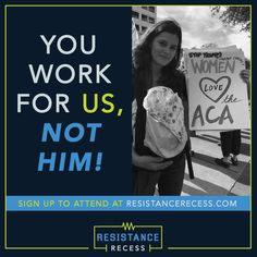 Attend a Resistance Recess Event: Save our Health Care, our Communities, and our Democracy | MoveOn.org