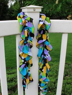 Super-Quick Cascading Scarf  by Nancy Zieman