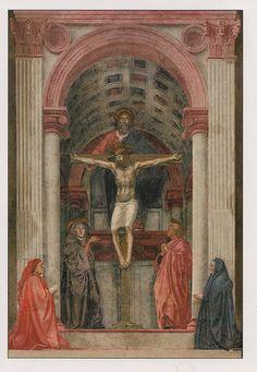 MASACCIO, THE MOST HOLY TRINITY