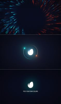 Particle Logo Streak • After Effects Template • See it in action ➝…