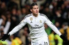James centrocampista colombiano del Reak Madrid