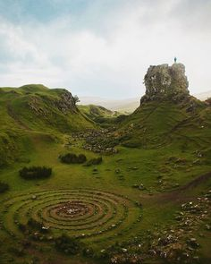 "Atlas Obscura on Instagram: ""The Fairy Glen is a bumpy, off-the-beaten-path spot that stands out from the rest of the farmland on the Isle of Skye, Scotland. The…"""