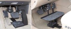 Eureka Solutions - Menox pedals  Vehicle conversion  Adaptation automobile 1-866-562-2555