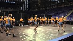 As part of our welcome back picnic, each team performed a talent to show all the student-athletes.