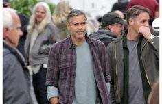 Exclusive photos: George Clooney on set in Vancouver