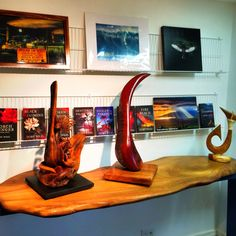 Mike Neal and Toby Neal share a showroom! #books and #art