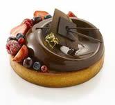 lesboulangers-boulanger,patissier,chocolatier, - TARTE AMANDE - PISTACHE AUX CERISES