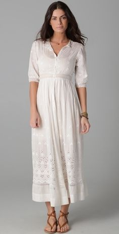WGACA Vintage Vintage Victorian Dress - StyleSays