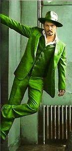 Green - Johnny Depp - http://gigiphotos.tumblr.com/post/30189900949/