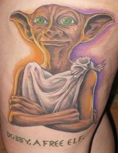 11 Insanely Hardcore Harry Potter Tattoos! http://11pts.com/703/1