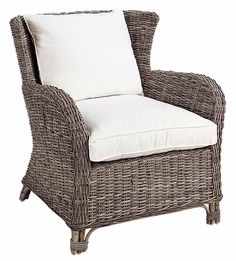 Rhode Island Single Seater Material: Rattan Colour: Kubu Grey with Off-white…