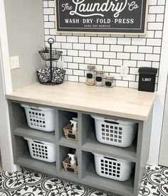 Mudroom Laundry Room, Laundry Room Shelves, Laundry Room Remodel, Small Laundry Rooms, Laundry Room Design, Laundry Area, Organized Laundry Rooms, Outside Laundry Room, Laundry Room Organization