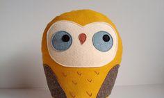 handmade giant plush owl, Herman. $46.00, via Etsy.