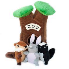 Zoo Animals Burrow Toy