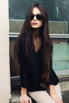 soft and natural long straight hair! wish I could achieve it.. I'm getting there....soon?