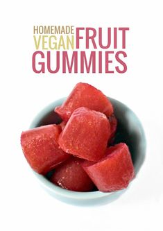 Healthy Gummy Fruit Snacks (using Agar) With Strawberries, Water, Maple Syrup, Juice, Agar, Blueberries, Water, Maple Syrup, Juice, Agar