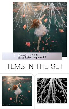 """Drowning"" by vegetarian-wolf ❤ liked on Polyvore featuring art"