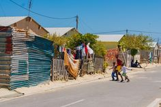 A neighborhood inthe township of Khayelitsha, South Africa / Photo by Hillary Fox Cape Town South Africa, Table Mountain, Local Photographers, Places To See, The Neighbourhood, Digital Art, Fox, Street View, Explore
