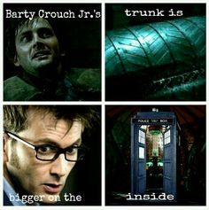 Doctor Who and Harry Potter! A nerd girls dream :D