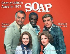 Comedy #10: SOAP. The 70s was filled with cutting edge television, but none were much better than SOAP. Funny. Biting. Pithy. Controversial. It touched on infidelity and homosexuality and race and demonic possession and religious issues and politics and the mob and... well, what subject matter DIDN'T it touch on? And talk about dysfunctional families!! Jeez...