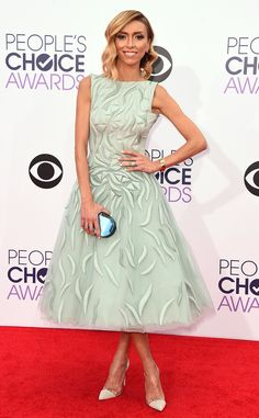 Giuliana Rancic from 2015 People's Choice Awards Red Carpet Arrivals | E! Online
