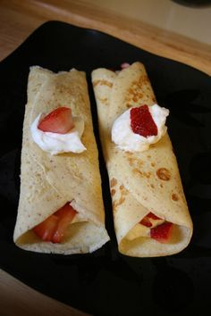 Weight Watchers Crepes!.