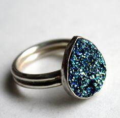 Drusy ring