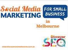 Discover SEO Melbourne company provide Social Media Marketing for Small Business in Melbourne in cheap rate . Browse here to get Social Media Marketing Services to advertise your Small business.(http://www.discoverseomelbourne.com.au/social-media-marketing-service-melbourne.php)