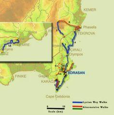 Walking The Lycian Way in Turkey