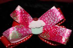 Cupcake bow-$8