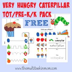 Did you know there is a The Very Hungry Caterpillar Day? There is and it's quickly approaching March 20. This book is one of my favorites to read with the kids. They always get a good laugh out of ...