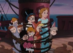 *JOHN, WENDY, MICHAEL & THE LOST BOYS ~ Peter Pan, 1953