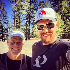 """Beautiful day for 15 miles in the mountains above Ashland with Rich.  I actually ran in short sleeves.  In February.  Sorry, east coast friends. :-)…"""