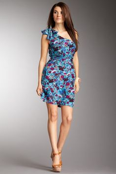 French Connection Fantatical Floral Dress